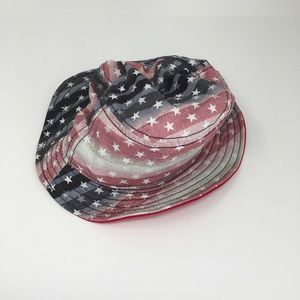 NEW Converse Bucket Hat OSFM Red/White/Blue